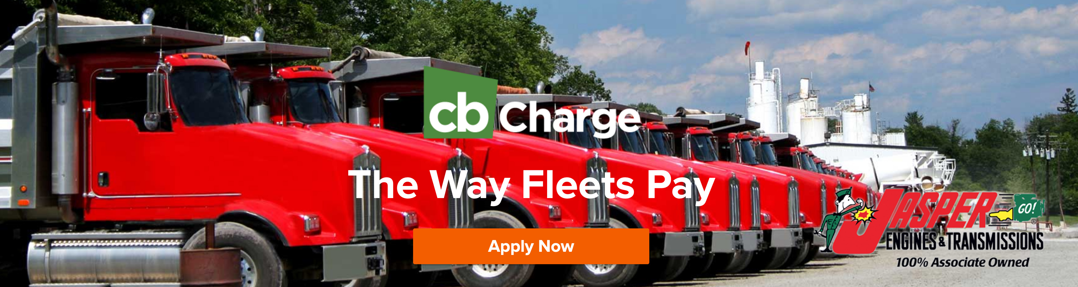 cbCharge fleet financing banner click here to apply